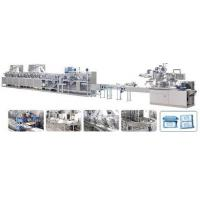 Cheap Full Auto Wet Wipes Machine, Wet Tissue Machine (40-100 pieces/bag) WKH-500 for sale