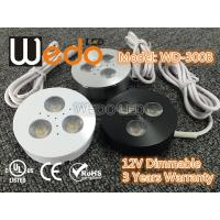 WD-300A 12V 3W LED Cabinet Light / LED Puck Light with CE cUL UL Certified Manufactures