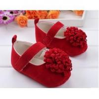 cotton fabric hot sale wholesale cute children shoes with flower Manufactures
