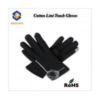 cotton lint touch screen glove for all touch screen device like smart phone and keep warm Manufactures