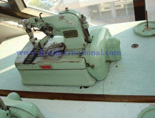 Quality REECE S2 button hole machine used for sale