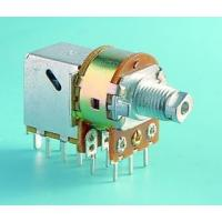 SP-RS16K1/SW=K1 Rotary Potentiometer with Push-Pull Switch and Rotary Switch