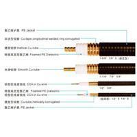 Radio Frequency Corrugated Copper tube Coaxial Cables(50ohms) Manufactures