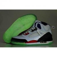 Air Jordan Spizike 3.5 Zebra Night Light Shoes Mens White Red Manufactures