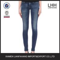 Europe style plain skinny jeans for women Manufactures