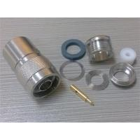 N Male Straight Connector For RG214 Manufactures