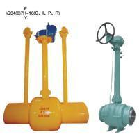 Buried (buried) type of all welded ball valve Manufactures