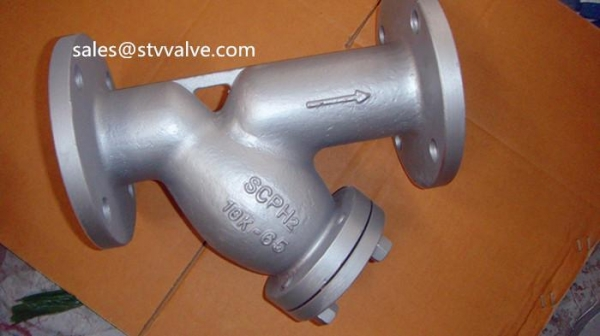 Quality JIS flanged Ystrainer Japanese standard Y-strainer(Y filter) for sale