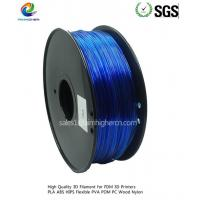 PC filament Transparent Blue color 1.75/3.0mm Manufactures