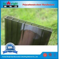 PC Triple-wall sheet Bronze Color Manufactures