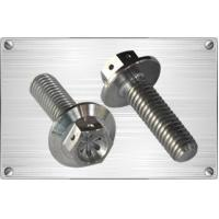 Buy cheap Bolts Titanium hex flange bolt with holes from wholesalers