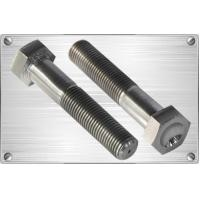 Buy cheap Bolts Titanium hex bolt with whirlpool from wholesalers