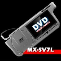 """7"""" Sun-visor DVD player with Sony lens/ SD/ USB/ IR/ FM/ AV-IN & OUT Manufactures"""