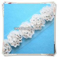 Buy cheap Charming decorative chiffon flower trimming FCL006 from wholesalers