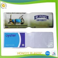 Card holder PVC ATM Card Jackets Manufactures