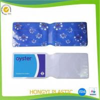 STATIONERY pvc oyster card holder Manufactures