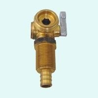 Quality 1/4 turn ball valve Brass Valve (PEX) right handle for sale