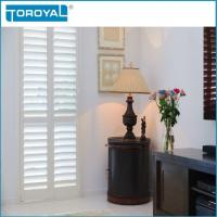 Buy cheap Plantation Shutters House Shutters Fauxwood Interior For Kitchen Fireproof from wholesalers