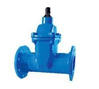 Quality DIN F4/F5 Resilient seated gate valves NRS Flanged ends for sale