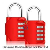 8023-4L red resettable combination lock