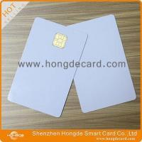 Contact IC Card FM4442 blank white card
