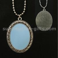 Blank Sublimation Necklace Apparel Fashion Thermal Transfer Photo Sweater Chain Manufactures