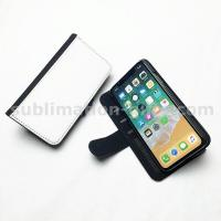 Sublimation Phone Wallet Cover For iPhone XS Blanks Flip Case Wallets With Slot & Stand Holder Manufactures