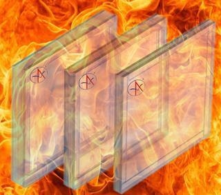 Quality Heat insulated fire resistant glass for sale