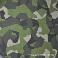 Buy cheap High quality price fire retardant blue camouflage fabric from wholesalers