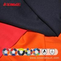 Buy cheap 98% cotton 2% Anti-static fire retardant fabric from wholesalers