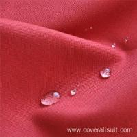 Buy cheap cotton fireproof waterproof fabric for work garment from wholesalers