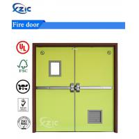 Buy cheap Emergency Entrance Fire Exit Door Double Leaf Fire Rated Door from wholesalers