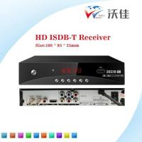 Buy cheap HD ISDB-T Digital tv receiver, export to Brazil/South Africa/Argentia/Philippines Market from wholesalers