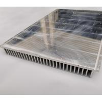 Buy cheap Customize Heat sink range from 20mm to 1000mm wide,5mm to 200mm high, electronic radiator from wholesalers