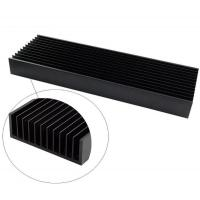 Buy cheap 6000 series extruded high heat dissaption aluminum LED heatsink from wholesalers