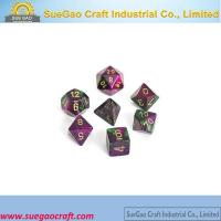 Resin Dice Set Manufactures