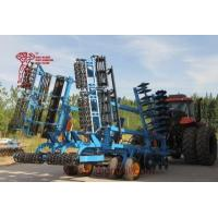 China Efficient Combined Land Preparation Disc Harrow with Leveling and Soil Roller Compaction Machine on sale