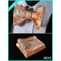 100% Silk Jacquard Bow Tie Square Manufactures