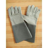 Welding Gloves Cow Leather Weld Gloves Manufactures