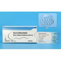Non Absorbable Black 2/0 3/0 Silk Surgical Suture
