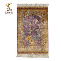 China Hand Knotted Silk Rug on sale