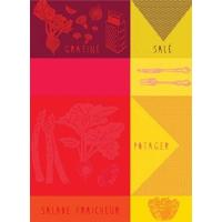 Office-Travel French Artists Club - Kitchen Woven Towel- Cuisine Manufactures