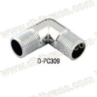 Brass CP Finish Male Elbow Manufactures