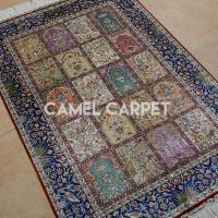 China Z0004A Oriental Handmade Pure Silk Rugs on sale