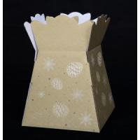 Kraft corrugated flower boxes Manufactures