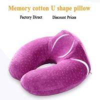 China Memory foam soft neck support travel pillow on sale