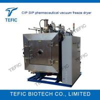 China CIP SIP Pharmaceutical Industrial Vacuum Freeze Dryer on sale