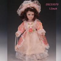 China Doll Sort 12 inch Porcelain dolls Victorian Baby Doll for collection vintage doll artist lifelike on sale