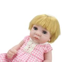 Doll Sort Soft Fully Body Silicone Reborn Dolls Mini Newborn Baby For Girl Bebes Early Manufactures