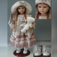 Buy cheap Doll Sort Wholesale 27inch country girl doll with fashion doll clothes from wholesalers